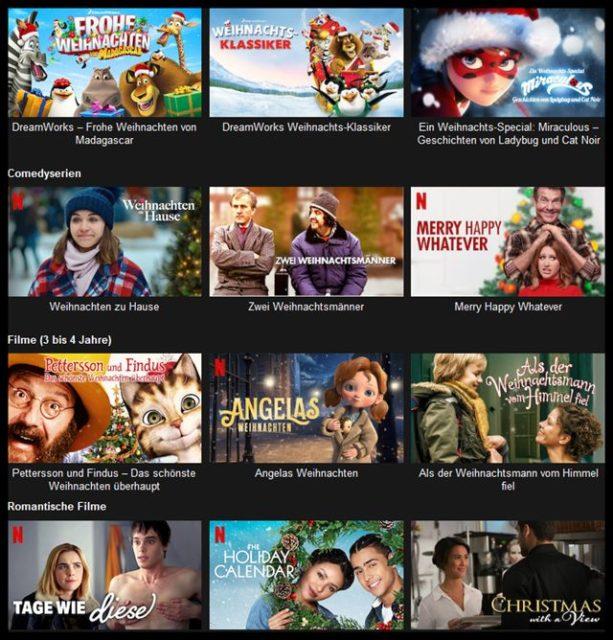 Mit diesen Geheimcodes findest du ALLE Weihnachtsfilme bei Netflix - Netflix Weihnachtsfilme