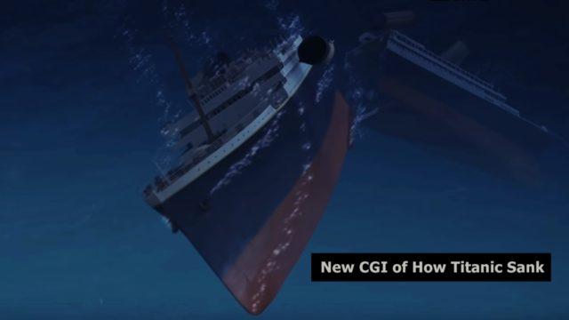 cgi how titanic sank