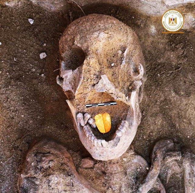 Ägypten: Mumie mit einer goldenen Zunge gefunden
